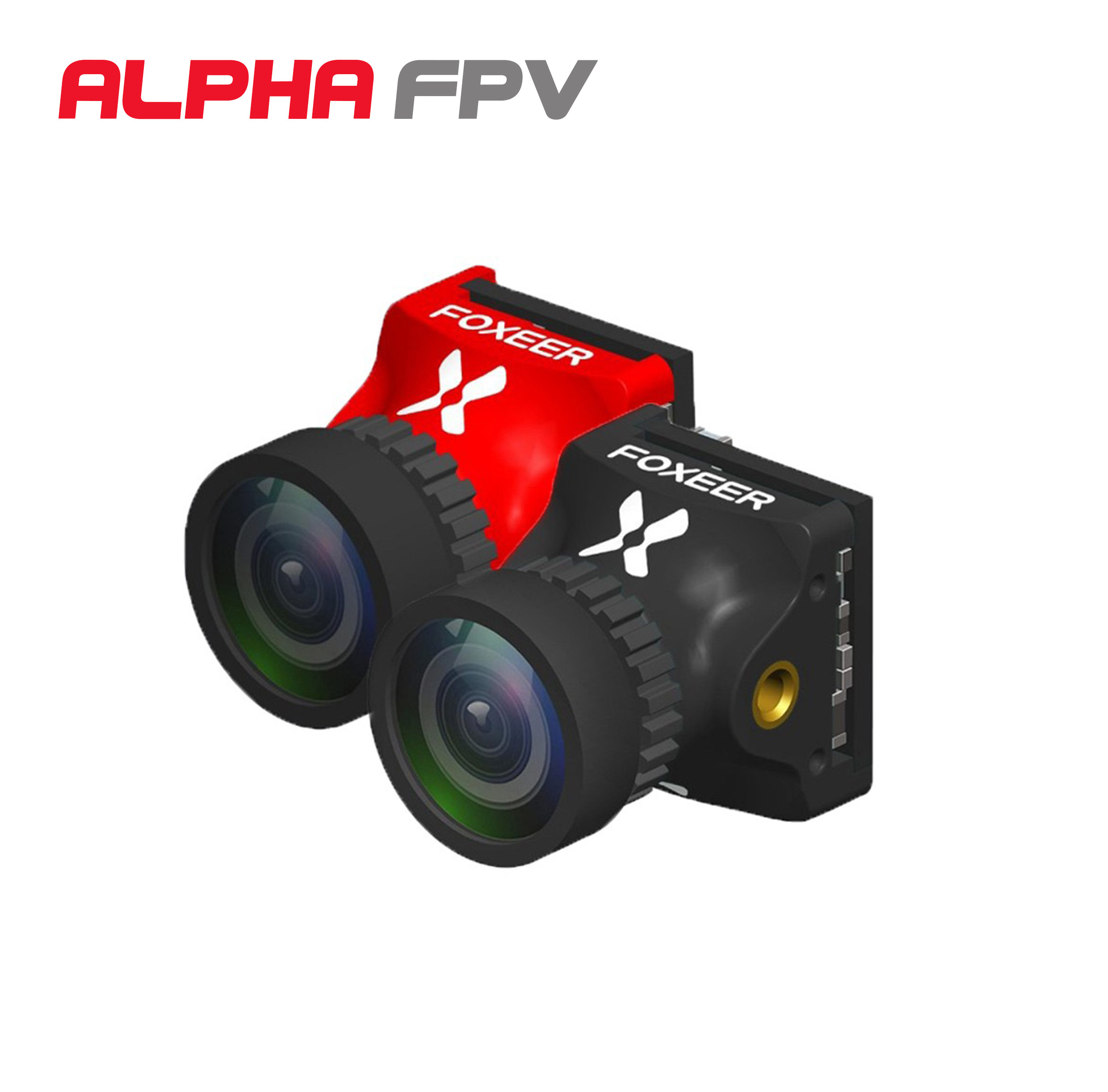 Foxeer Digisight 720P Digital FPV camera compatible with Shark Byte 1000TVL Analog Switchable 4ms Latency Super WDR 1/3