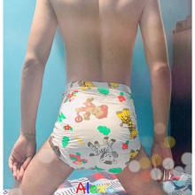 ABDL adult baby 5pcs diapers for men and women with fragrance cartoon animals and cute adult baby diapers pull pull diapers