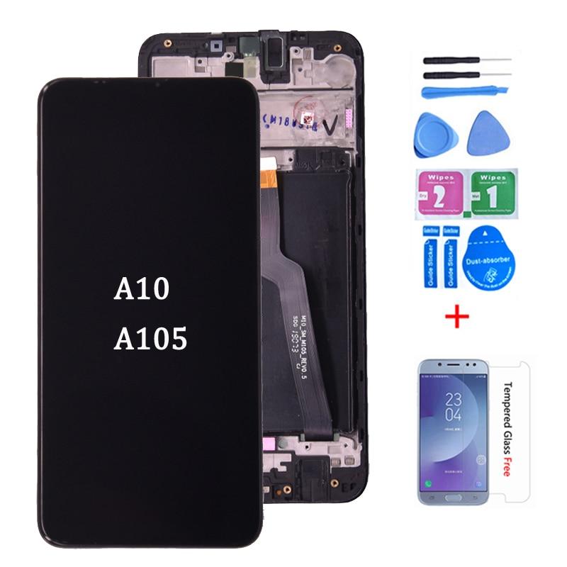 Дигитайзер для Samsung galaxy A10, ЖК-дисплей с сенсорным экраном и дигитайзером в сборе, A105/DS A105F A105FD A105A, оригинал