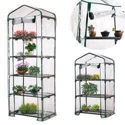 Jardim quente Tampa Transparente PVC Planta de Efeito Estufa Plantas Em Vasos de Flores Capa para o Cultivo de Mudas Ao Ar Livre À Prova D' Água Anti-UV Tampa