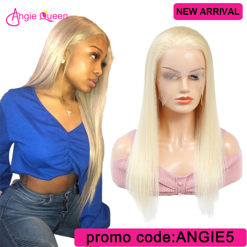 613 Straight Lace Front Human Hair Wigs For Black Women Brazilian Hair Blonde Lace Wigs 100% Human Hair Wig 150% 14 16 18 20 22