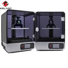 Atualizado kelant s400s 8.9 polegada 2k laser impressora 3d fóton resina uv sla luz-cura 192*120*200mm lcd dlp impressora 3d kit