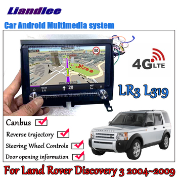 Liandlee Android 2+32G For Land Rover Discovery 3 LR3 L319 2004~2009 Car IPS Screen Carplay GPS Navi Map Navigation Media