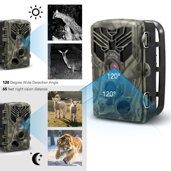 Trail Camera Hunting Game Camera Outdoor Wildlife Scouting Camera with PIR Sensor Infrared Night Vision 0.3s Super Fast Trigger