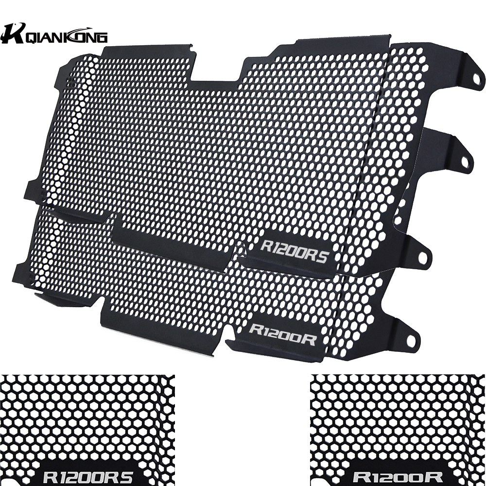 For <font><b>BMW</b></font> R 1200 R RS 2015 2016 2017 2018 19 Motorcycle CNC Radiator Grille Grill Guard Protector Cover Protection <font><b>R1200R</b></font> R120RS image