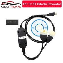 Promoción para el Dr. excavadora ZX Hitachi OBD2 herramienta de diagnóstico el código de error con el software V2011A versión