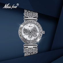 Женские часы missfox роскошные брендовые модные элегантные популярные