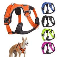 Arnés para perros de alta calidad, chaleco de entrenamiento para perros medianos y grandes, arnés protector ajustable para exteriores