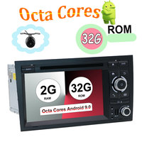 2 din android 9.0 octa cores car dvd player gps for Audi A4 B6 B7 S4 B7 B6 RS4 B7 SEAT radio head unit canbus 32G ROM