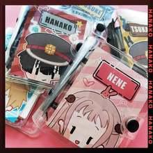 Мини блокнот аниме hanako kun cosplay nene из ПВХ в туалетной