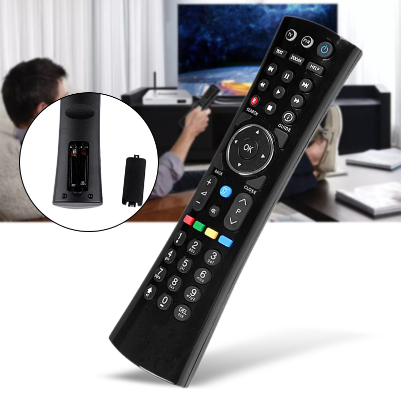Durable ABS Black TV Remote Control Replacement For Humax DTR-T1000 RM-I08U HDR-1000S/1100S Freesat