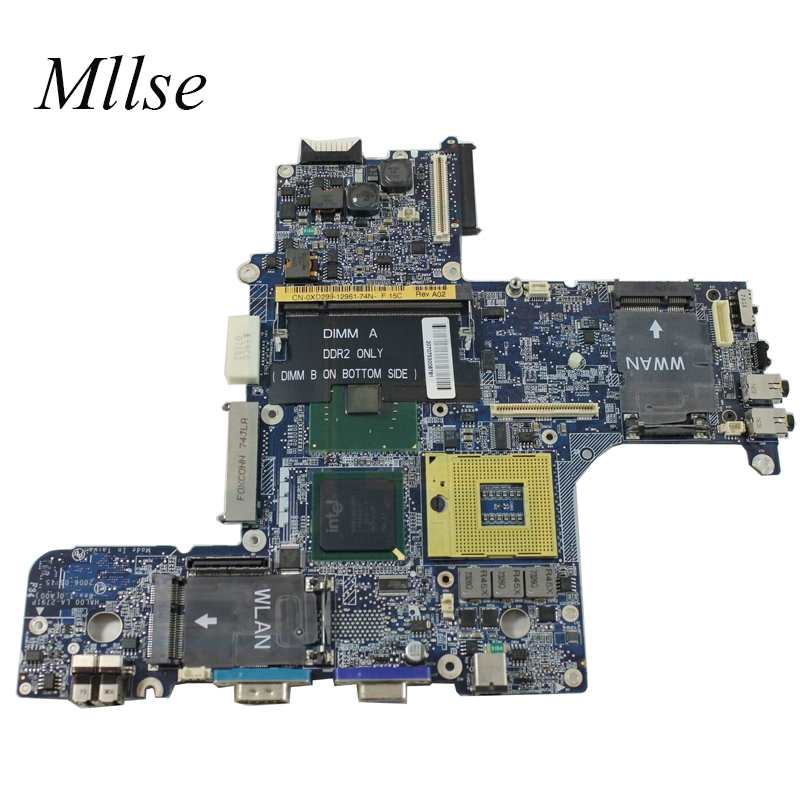 Free Shipping For Dell Latitude D620 Laptop Motherboard 945GM DDR2 CN-0XD299 0XD299 HAL00 LA-2791P 100% Tested