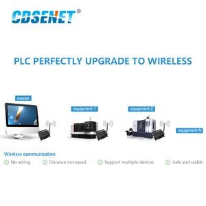 Image 5 - Ethernet Modbus 433mhz rf Trasmettitore A lungo raggio Comunicatore Radio E90 DTU 433C30E IoT PLC 433 MHz RJ45 Ricetrasmettitore rf