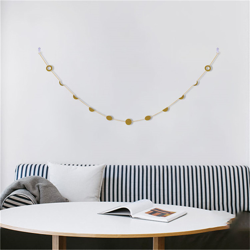 Moon Phase Garland Chains Celestial