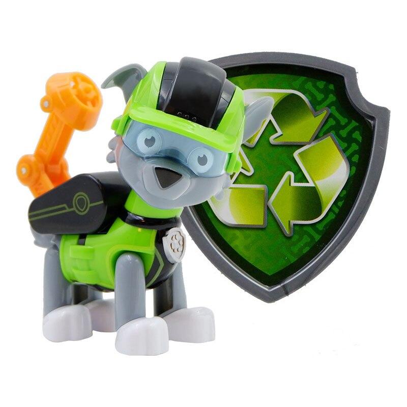 Paw Patrol, набор игрушек, собака Patrulha Canina, аниме, фигурка автомобиля, фигурки, украшения, игрушки для детей, подарки на день рождения 2D32 - Цвет: 15 no box