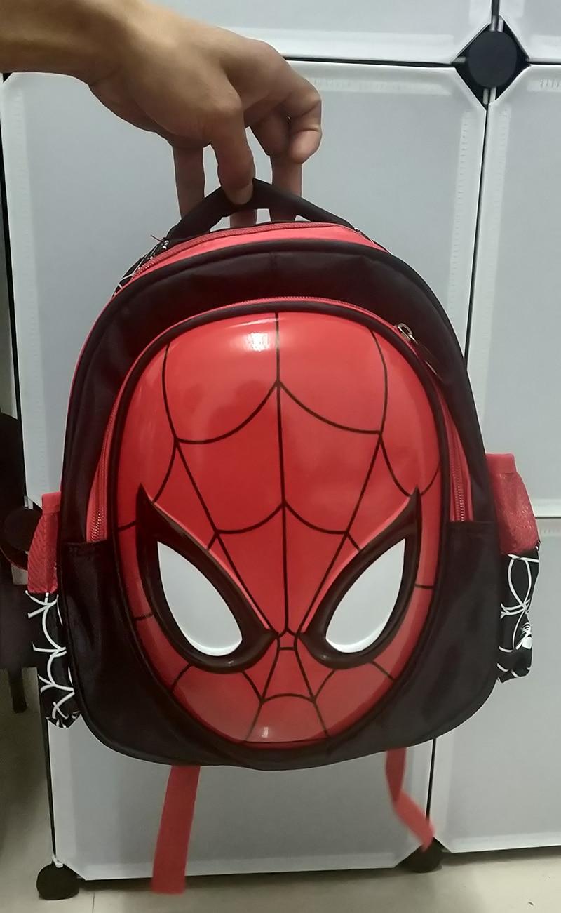 New Boys 3-6 Year Old 3D School Bags Child Spiderman Book Bag Kids Shoulder Bag Satchel Knapsack 2020 Hot Waterproof Backpacks