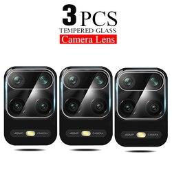 3 pçs lente da câmera de vidro para xiaomi redmi nota 9 7 8 9s 9 pro max 8t protetor de tela poco f2 x3 vidro para redmi 8 9c 9a caso do filme