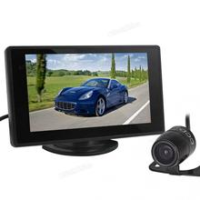 4.3 Inch Color TFT Car Monitor Support 480 x 272 Resolution + Car Camera New стоимость