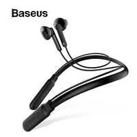 Baseus S16 słuchawki Bluetooth wbudowany mikrofon bezprzewodowy lekki pałąk na kark słuchawki sportowe słuchawki douszne stereo na telefon