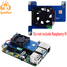 Raspberry Pi Fan PoE HAT for Raspberry Pi 4B/3B+