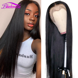 Brazilian Lace Fromt Human Hair Wigs Straight 13x4 Lace Front Wigs 4x4 Closure Wig Pelucas De Mujer Blackmoon Wig Natural Hair