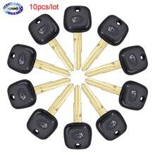 10pcs/lot ,Transponder Key Blank Fob Key Remote Shell for Daihatsu Charade Copen Cuore Feroza Sirion Terios YRV