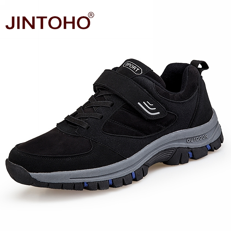 Hiking Shoes Sneakers Outdoor Women Black Unisex JINTOH title=