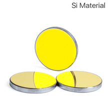 Mirrors Lenses Reflector Laser Engraver Si Gold-Plated Silicon Cloudray for Dia. 19-20-25-30