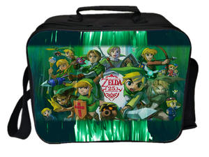 Ice-Cooler-Bag Lunch-Bag Picnic Thermal-Insulation of Zelda Link Legend Camping