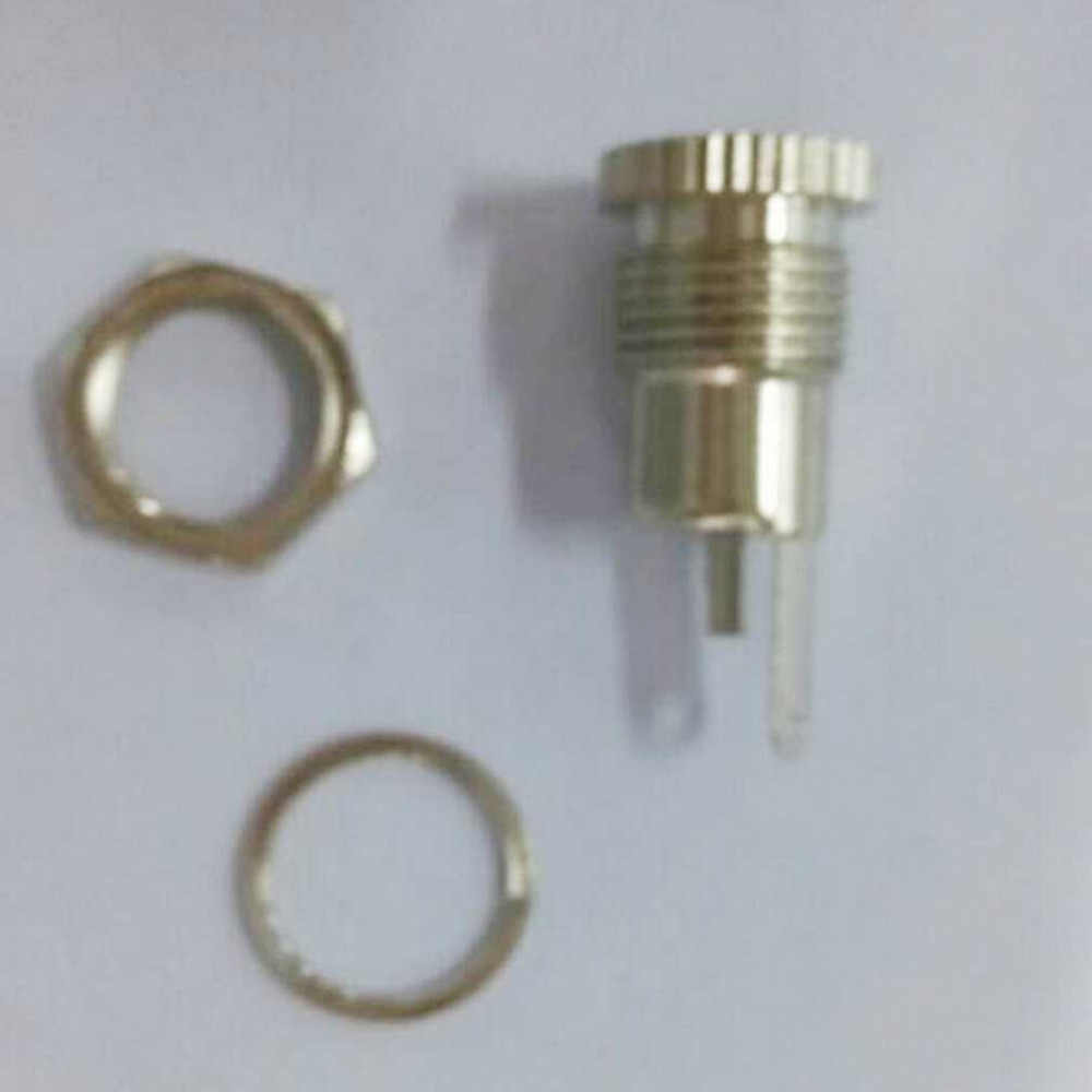 1Pc 5,5mm x 2,1mm DC power buchse panel mount Jack Buchse Weiblich Panel Mount Stecker C1