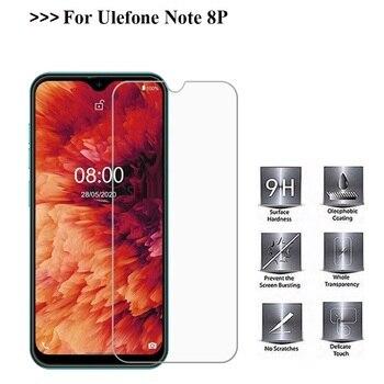 Перейти на Алиэкспресс и купить Закаленное стекло для Ulefone Note 8P, Чехол 9H 2.5D, защитная пленка, Взрывозащищенная прозрачная защитная пленка для телефона