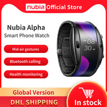 Globale Version Nubia Alpha Smart Telefon Uhr 4.01 \