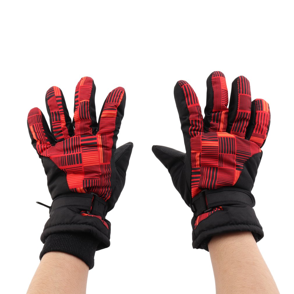 Snowmobile Motorcycle Riding Gloves Waterproof Winter Warm Gloves Unisex Ski Gloves Women Men Snowboard Mittens Gift
