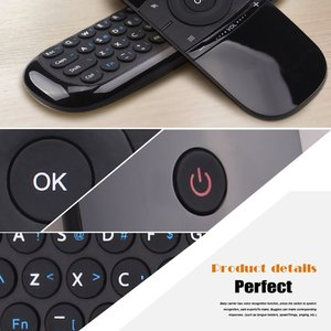 Image 3 - Mini Luft Maus W1 Drahtlose Tastatur 2,4G Name Sensing Fly Air Maus Für 9,0 8,1 Android TV Box/ PC/TV