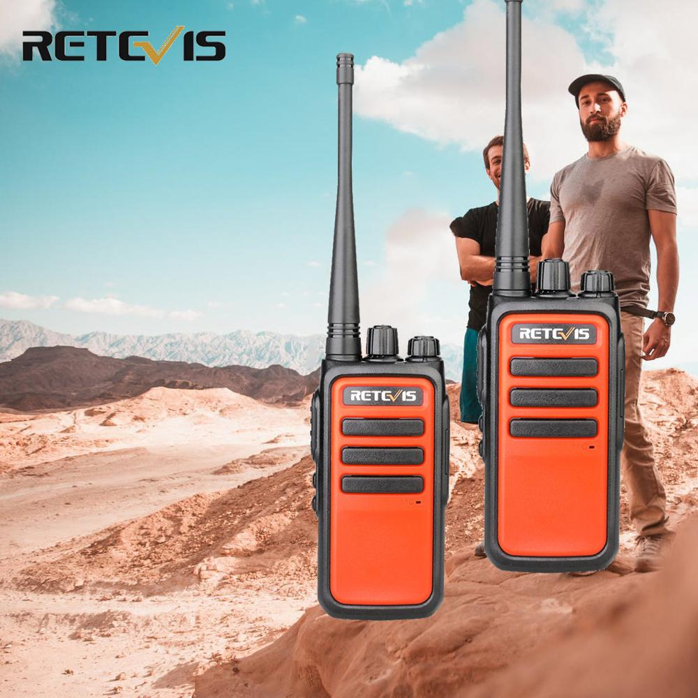 2pcs Retevis RT666/RT66 Walkie Talkie PMR Radio UHF PMR 446 VOX USB Charging Two Way Radio Transceiver Comunicador Walkie-Talkie