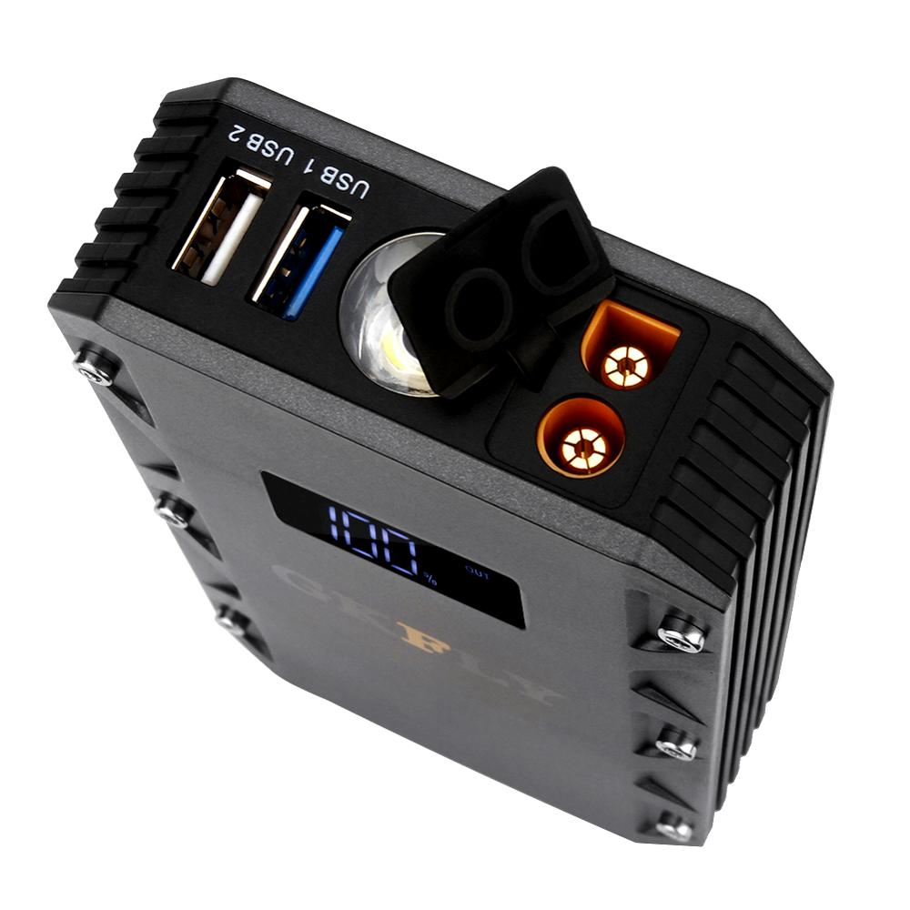 Gkfly Ad Alta Capacità Mini Salto di Avviamento 12V 1500A Cavi di Partenza Dispositivo Multi Funzione Portatile Accumulatori E Caricabatterie di Riserva Batteria Auto Booster - 6