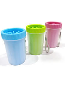 Dog-Paw-Cleaner Cleaning-Tool Manual Soft-Silicone Portable Dogs Cup for Small Medium