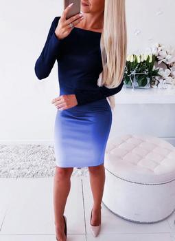 Women Casual Loose Dress Colors Spring Winter Boho Bow Full Long Sleeve Befree Mini Dress Plus Sizes Dresses Robe Femme 2020 6