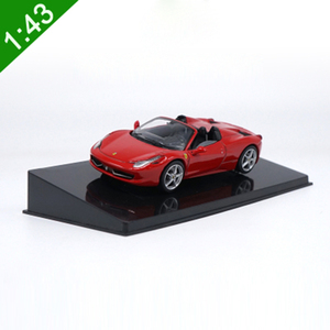 Image 1 - 1:43 High Meticulous Roadster 458 SPIDER Alloy Model Car Static Metal Model Vehicles