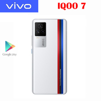 Original New Official VIVO IQOO 7 5G Smartphone Snapdragon888 6.62inch 120Hz Rate Reflash 120W Flash Charge Android 11 OS 48MP 2