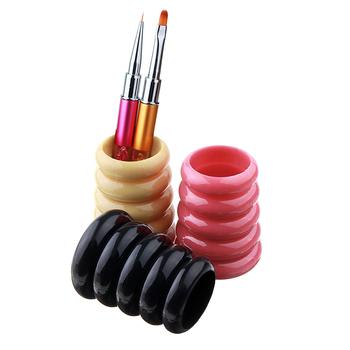 Pędzel kosmetyczny obsadka do pióra przechowywanie pusty uchwyt akcesoria do makijażu szczotki organizator narzędzia do makijazu tanie i dobre opinie Linmei Z tworzywa sztucznego 439697 7cm for length Pędzel do makijażu makeup brushes brochas