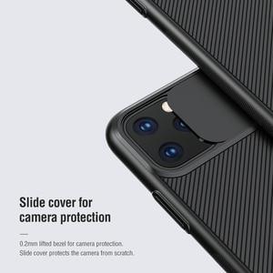 Image 3 - Nillkin para iphone 11 pro max caso slide capa para câmera de proteção para iphone 11 caso 2019 capa traseira para iphone 11 pro caso