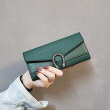 New Leather Wallets Vintage Purse Women Hasp Women