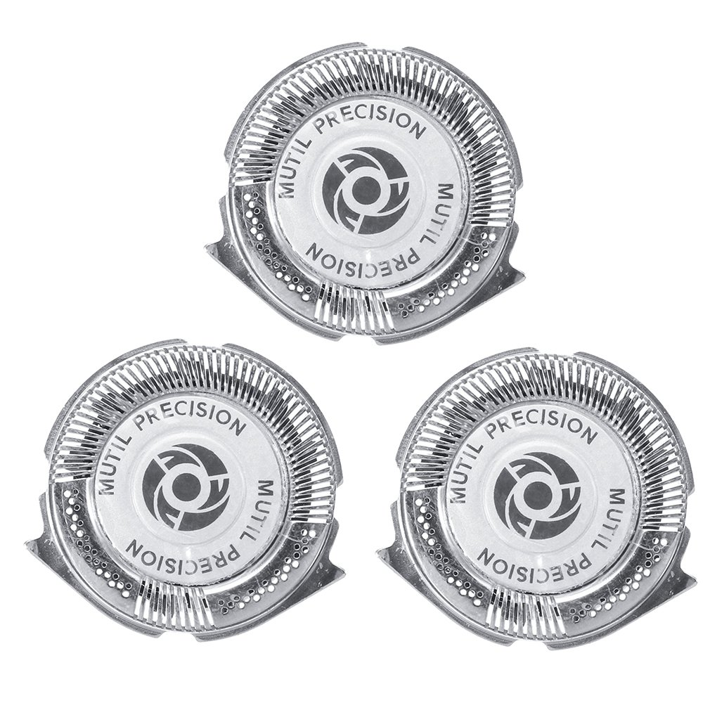 3pcs/set Shaving Heads Replacement <font><b>Shaver</b></font> Heads Multi Precision Razor Head Blades for <font><b>Philips</b></font> Norelco Series <font><b>5000</b></font> Triple Blade image