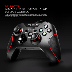 Image 2 - Fantech GP11 Gamepad LED Colorful lights Ergonomic design and vibration function For PS3 XIAOMIBOX PC Gamer