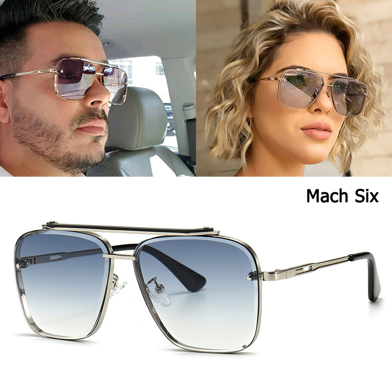 JackJad 2021 Mode Klassische Mach Sechs Stil Gradienten Sonnenbrille Kühlen Männer Vintage Marke Design Sonnenbrille Oculos De Sol 2A102