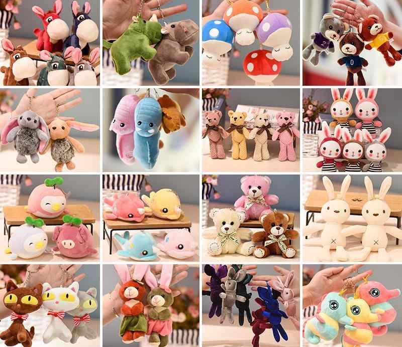 Ant plush kawaii keychain chaveiro de pelúcia brinquedo de Pelúcia kawaii keychain bag pingente mini boneca de brinquedo de Pelúcia chaveiro charme saco mini boneca