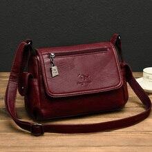 Fashion Soft Leather Luxury handbags Women bags Designer Mul