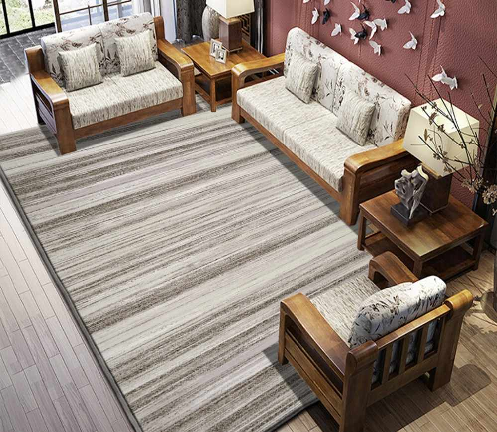 Abstrak Perjanjian Baru Cina Abstrak Line Karpet Ruang Tamu Lantai PVC Perekat Diri Wallpaper