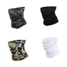 Camouflage Face Mask Sunscreen Outdoor Magic Scarf Windproof Mask Seamless Headband for Cycling Climbing Fishing Hat